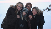 Angie Mueller with her family