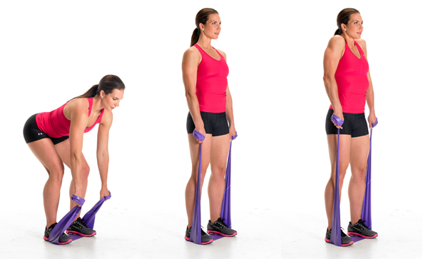 Shrug Resistance Band Workout -- Tone Every Inch