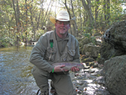 Colon Cancer Survivor Keith Friend Fishing