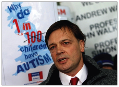 Image of Dr. Andrew Wakefield