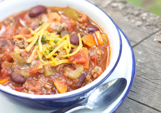 Diabetic Recipes -- Chili