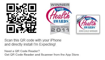 Scan this QR code to download I'm Expecting
