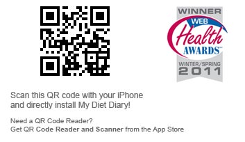 Scan this QR code to download My Diet Diary