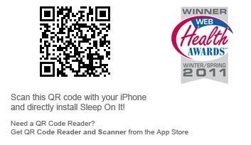 Scan this QR code to download Sleep On It