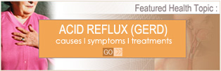 Acid Reflux causes, symptoms and treatments